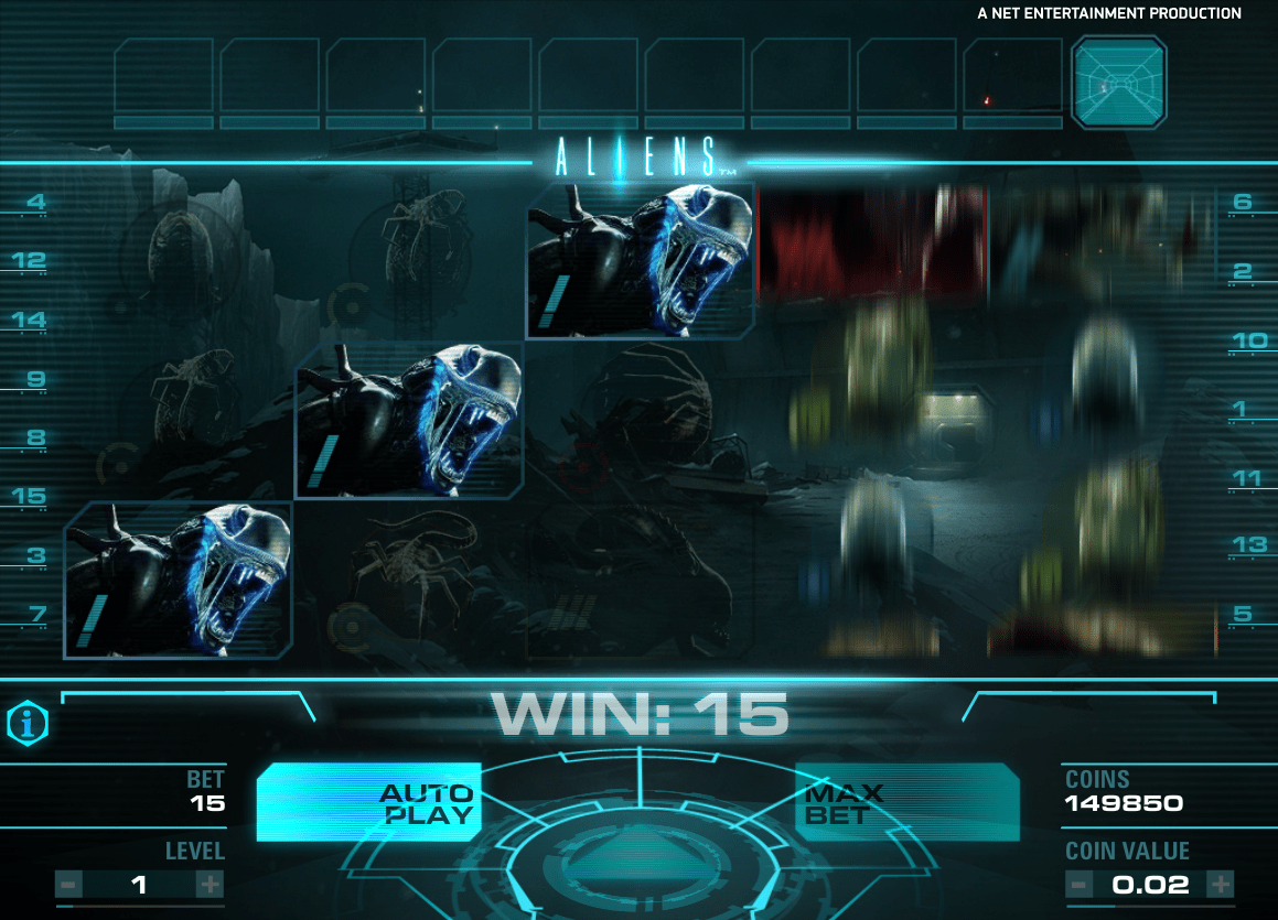 NetEnt Aliens Screenshot 3
