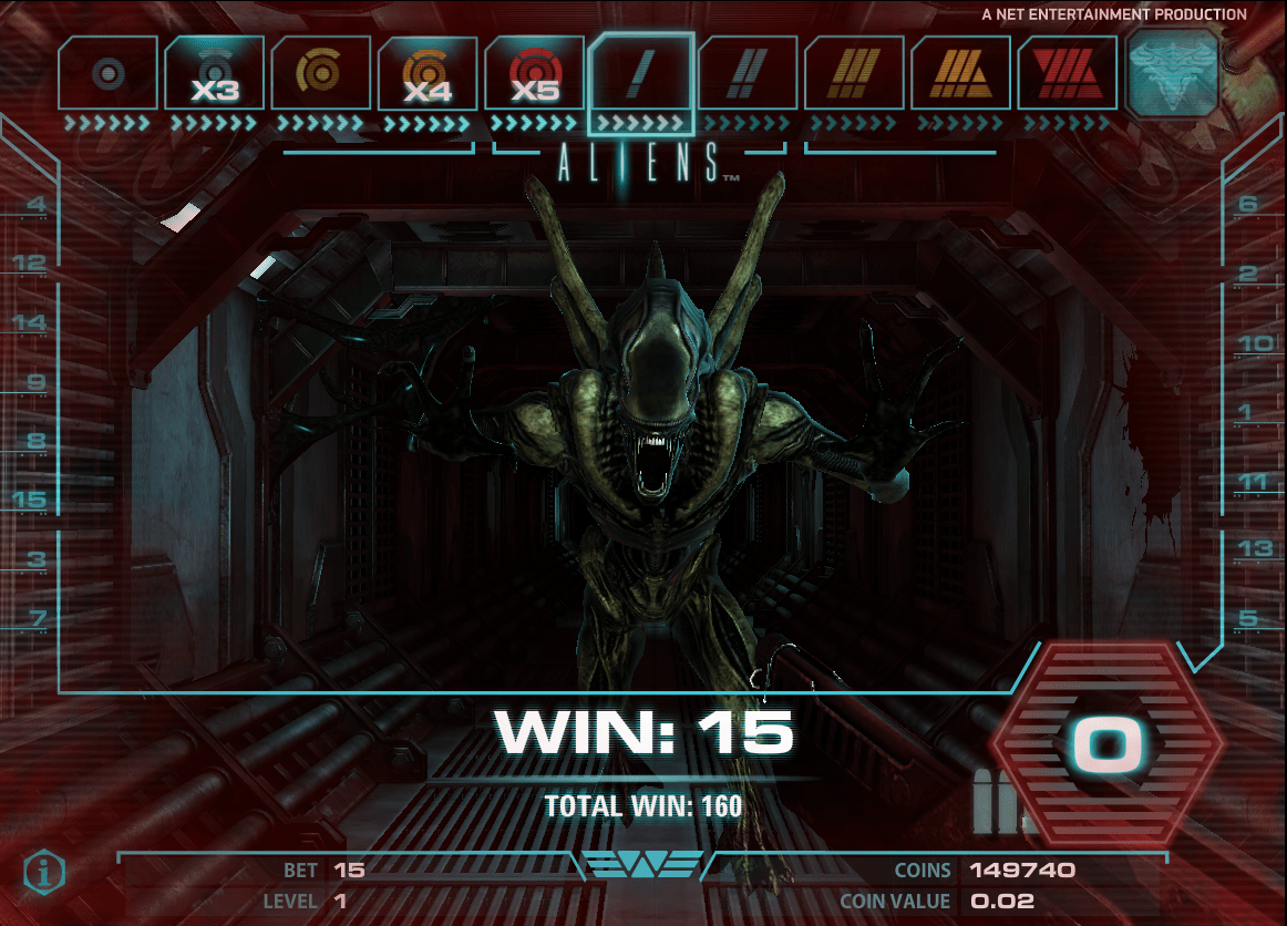 NetEnt Aliens Screenshot 7
