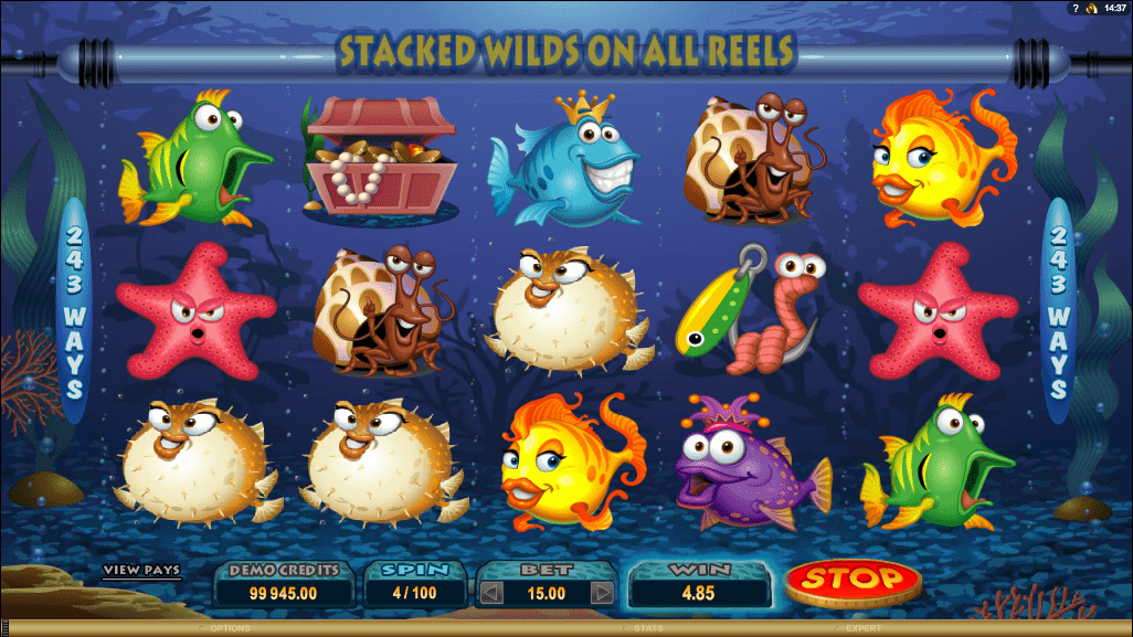 Microgaming Quickfire Fish Party Screenshot 2