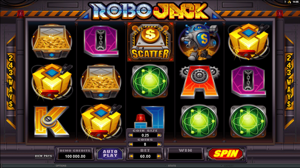 Microgaming Quickfire Robo Jack Screenshot 1