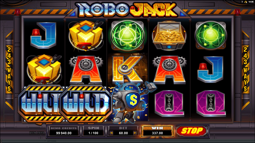 Microgaming Quickfire Robo Jack Screenshot 2