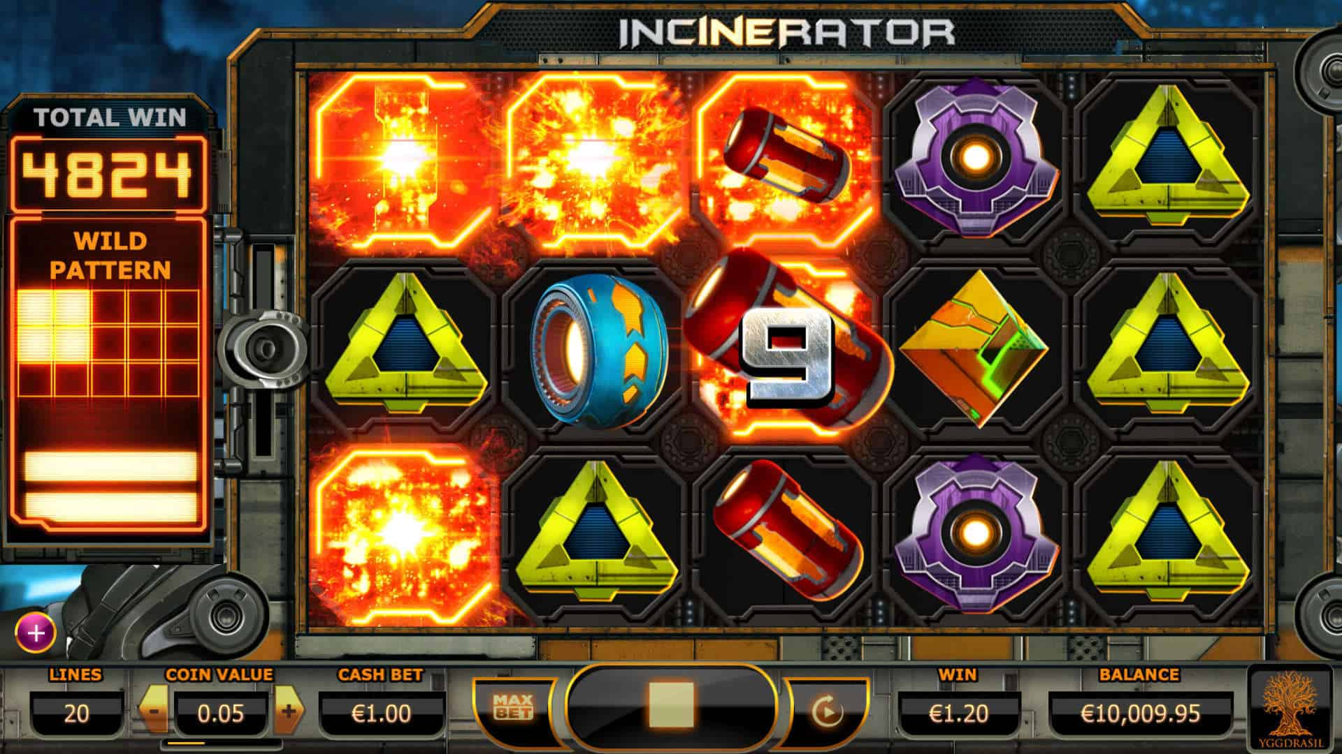 Yggdrasil Incinerator Screenshot 3