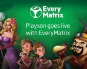 Playson games are now available on the EveryMatrix platform