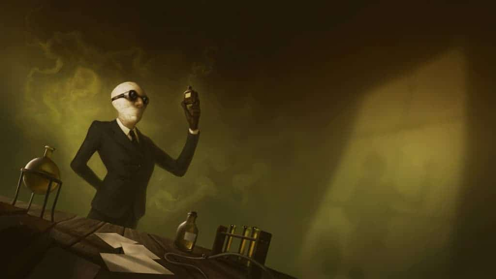 The Invisible Man Background Image