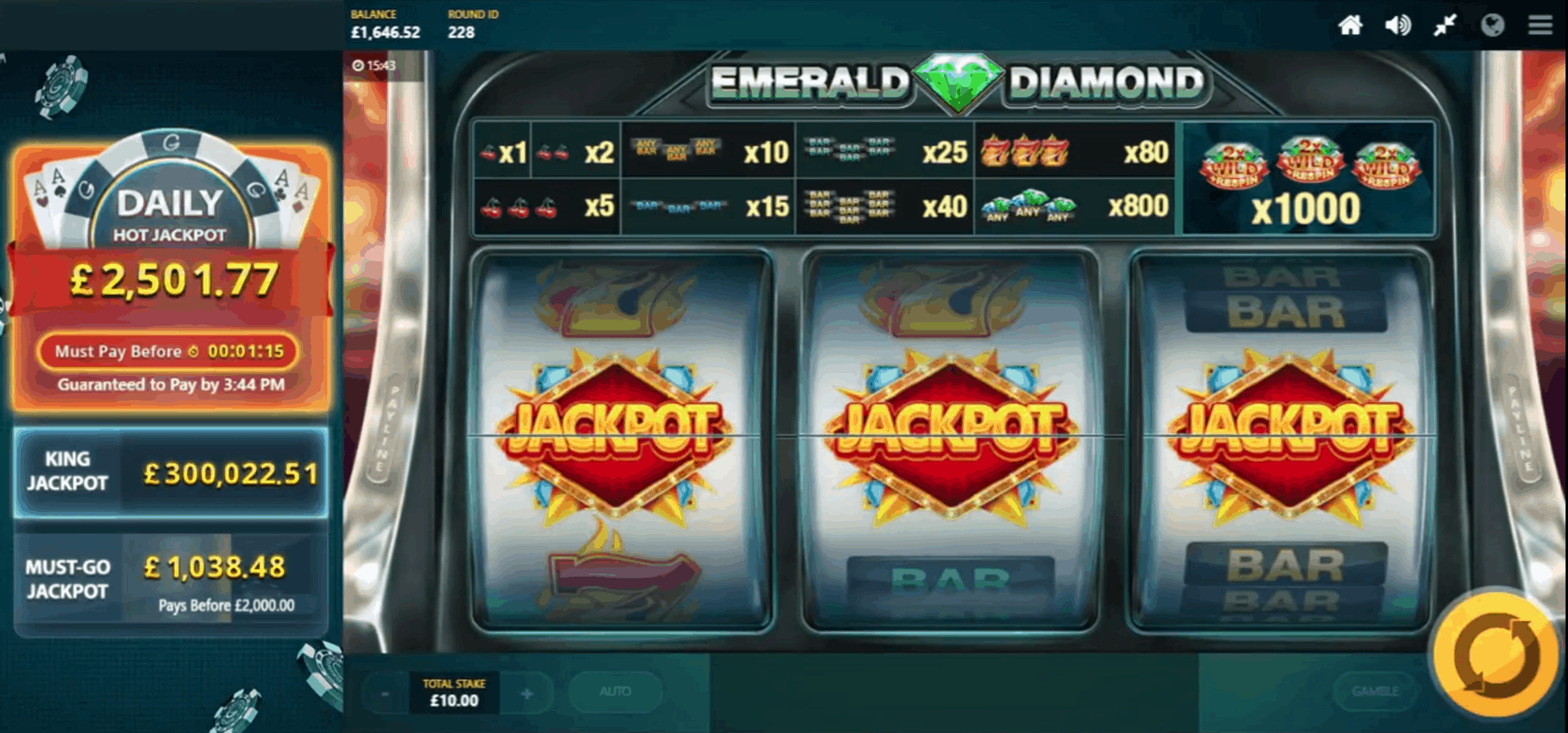 Red Tiger Games - Daily Jackpots